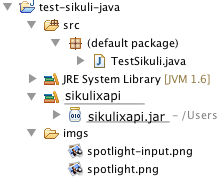 How to use SikuliX API in your JAVA programs or Java aware